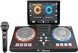 iDance - iDance XD101. Set de DJ. Mezclador con altavoz & micrófono.
