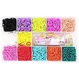 LFS élastiques pour Bracelets, Kit de Faisait Les Bracelets pour Enfants