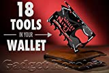 #9: Gadget Hero'sTM Wallet Ninja 18-in-1 Survival Tool Kit Multifunction Credit Card Style