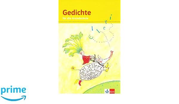 Gedichte Für Die Grundschule 1 4 Schuljahr Amazoncouk