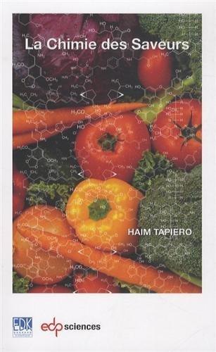 La chimie des saveurs de Ham Tapiero (6 mars 2014) Broch