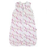 Lictin Baby Sleeping Bag - Baby Sleeping Sack Wearable Blanket 2.5 Tog, Baby Grow Bag Swaddle Wrap with Adjustable Length 70-90cm for Infant Toddler 3 to 18 Months