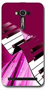DigiPrints High Quality Printed Designer Soft Silicon Case Cover For Asus Zenfone 2 Laser ZE550KL