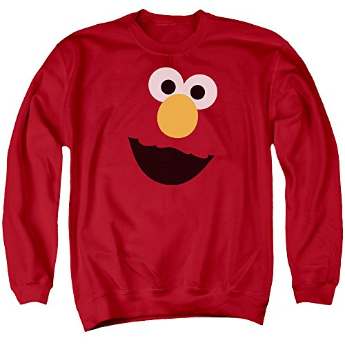 Sesame Street -  Felpa  - Uomo Red