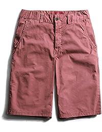 WDDGPZDK Strand Shorts Herren Bekleidung Hosen Mann Baumwolle Cargo Lässige  Mode Shorts Men Sommer Kurze 1beb7fb249