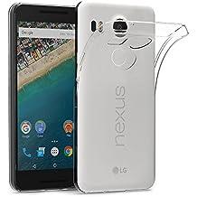 Funda LG Nexus 5X, AICEK LG Nexus 5X Funda Transparente Gel Silicona Google Nexus 5X Premium Carcasa para LG Nexus 5X