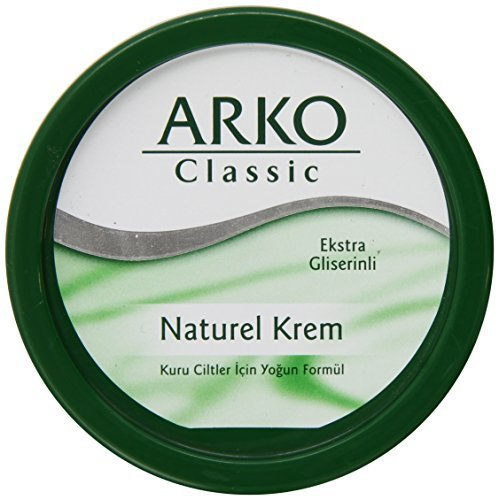 Arko 150ml Classic Natural Cream by Evyap (English Manual)