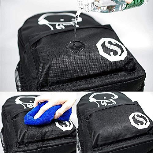 Zaino Casual Zaino Impermeabile per Viaggio scuola e business Computer laptop pc 15.6 pollici Zaino Unisex Misura grande Zaino da adulti 35 Litri - 3