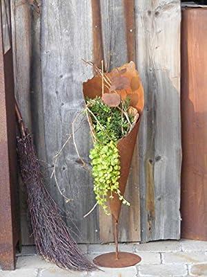 """Pflanztüte """"Rostikal"""" mit Bodenplatte, 80 cm von Rostikal auf Du und dein Garten"""