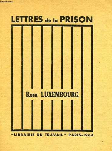 LETTRES DE LA PRISON