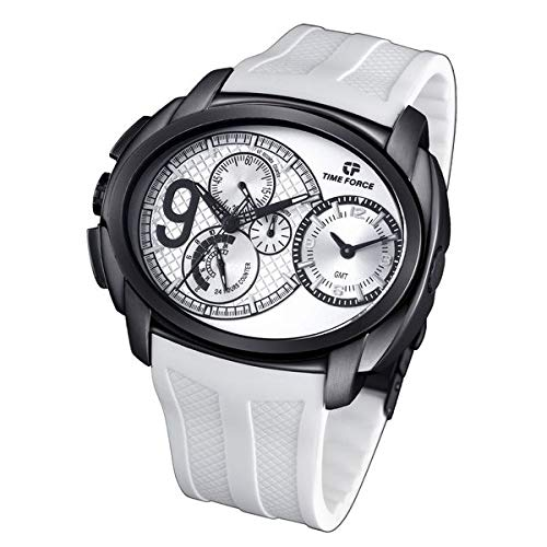 TIME FORCE TF3330M11 - Reloj Caballero caucho