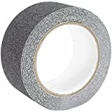 oule cinta adhesiva para mayor seguridad antideslizante de PET 5m x 5cm Negro Interior y Exterior