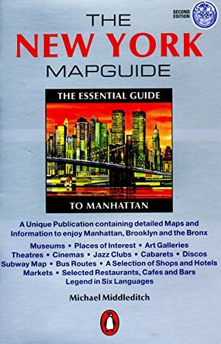 The New York Mapguide by Michael Middleditch(2001-01) - Mapguide York New