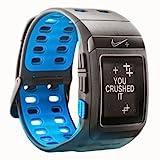 Nike+ SportWatch GPS Uhr powered by TomTom, schwarz mit blau Innenseite