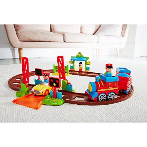 early learning centre 118635 jouet d 39 veil petit train happyland b b paradis. Black Bedroom Furniture Sets. Home Design Ideas