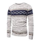 Manadlian Männer Herbst Winter Gestrickt Kapuzenpullover Oberteile Gedruckt Sweatshirt Outwear Herren Bluse Sweatshirt Pullover