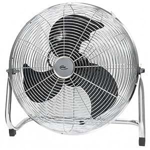 Elta El-9063 «Wind Machine» Ventilateur 45Cm 3 Pales Acier Chromé