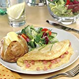 Framptons Frozen Cheese and Ham Omelettes - 24x120g