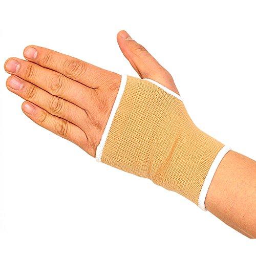 UGUAX 1Paar Hand Bandage Handgelenk unterstützt Elastic Brace Sport Unterstützung Handgelenk Handschuhe Hand Palm Gear Displayschutzfolie (Unterstützt Karpaltunnel Handgelenk)