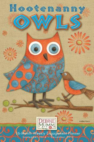 Cal 2015-Hootenanny Owls - Debbie 2015 Mumm Kalender