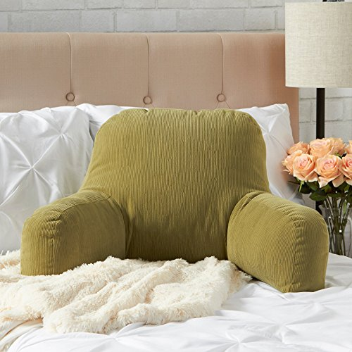 Greendale Home Fashions 5191 - Olive Bed Rest Pillow - Omaha - Olive