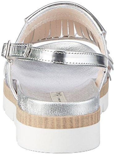 Tosca Blu Damen Mimosa Plateausandalen Silber (argento)