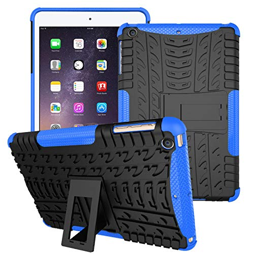 K8U125 @FATO Heavy Duty Wärmeableitung Hinterbauständer Strukturierter Fall für iPad Mini 1/2/3 -