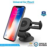 #7: ZAAP Quicktouch Two Car Mount Mobile Holder For Interior Fittings Car Windshield, Dashboard & Working Desks (Black)