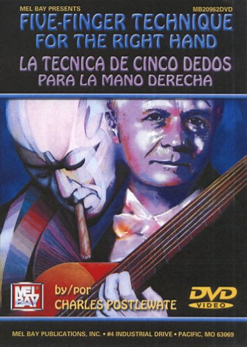 FIVE FINGER TECHNIQUE FOR THE RIGHT HAND REINO UNIDO DVD