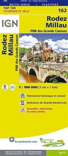Rodez / Millau / PNR des Grands Causses par Institut Géographique National