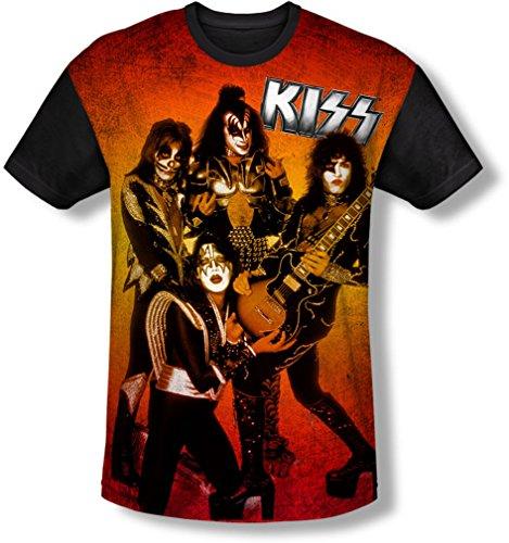 Kiss - Jugendfeuerwehr-Haltungs-T-Shirt, X-Large, White