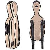 Tonareli Music Supply Tonareli Viola Case Cover For VAF Shaped Fiberglass Cases - VACCS 1004 Beige