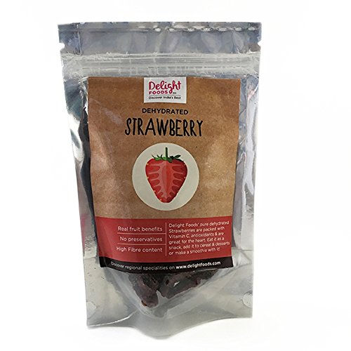 Delight Foods Dehydrated Strawberry, 100gm