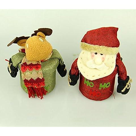 Lusso natale regalo scatola Natale candy regalo scatole di caramelle al cioccolato per inviare gli amici ornamento di Natale di regalo scatola di imballaggio,Pupazzo di neve