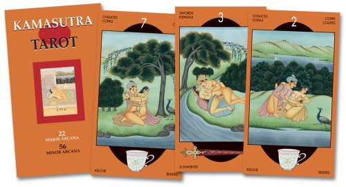 Books Kamasutra Tarot: 78 Full Colour Cards and Instructions