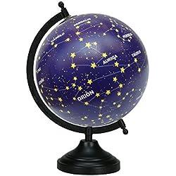 13 decorativos de escritorio globo giratorio Constelación Estrellas Globos decoración de la tabla