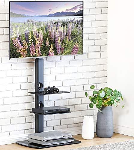 FITUEYES TV Ständer TV Stand TV Standfuss für 32 bis 65 Zoll Drehbar Höhenverstellbar Max.VESA 400x600 TT306502GB -