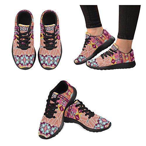 Zenzzle Running Chaussures Femme Noir Noir Color8