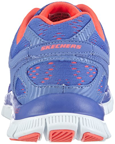 Skechers - Flex Appeal First Glance, Sneakers da donna Blu (PERI)
