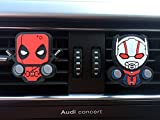 Best Car Fresheners - 2 x Coolest Novelty Car Air Fresheners! Deadpool Review