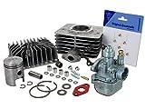AKF Set: Zylinder 63ccm + Kolben + Kopf + BVF 16N1 - für Simson S50