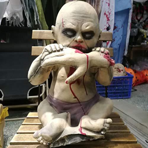 JIBO Horror Mordedura De Halloween Props Bar Bar Casa Embrujada Secreta Decoración De La Habitación Suministros