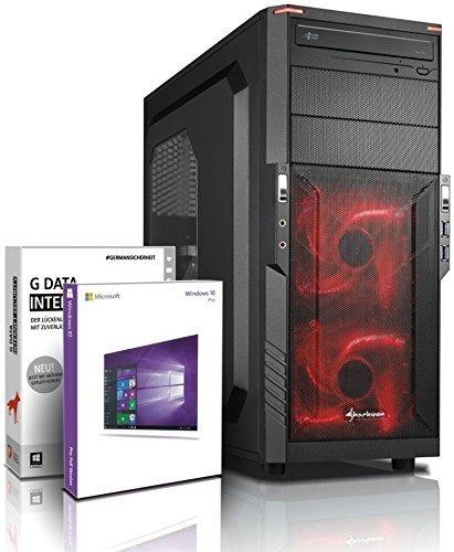 Gaming PC SSHD / Multimedia COMPUTER mit 3 Jahren Garantie! | Quad-Core! AMD A10-7700K 4 x 3800 MHz | 8GB DDR3 | 750GB SSHD | AMD Radeon R7000 4096 MB DVI/VGA HyperMemory 8xCore APU| USB3.0 | 22x DVD±R/RW | Windows10 Professional 64 #5729