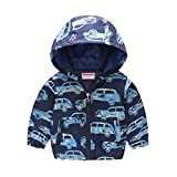 Yying Abbigliamento Bambini Ragazzi Giacche Bambini Giacca Vento Vappuccio Bambino Cappotto Neonato Felpe Cappuccio Bambini