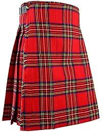 Écossais kilt Hommes montagnes robe traditionnel -Royal Stewart b46c92a5481