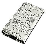 Rhinestone Flip Book-Style Flip Mobile Phone Case