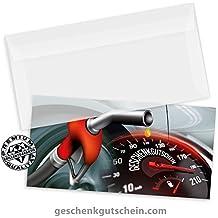 """Gutscheinkarten /""""DINlang/"""" für Tankstellen Werkstätten TK9230"""