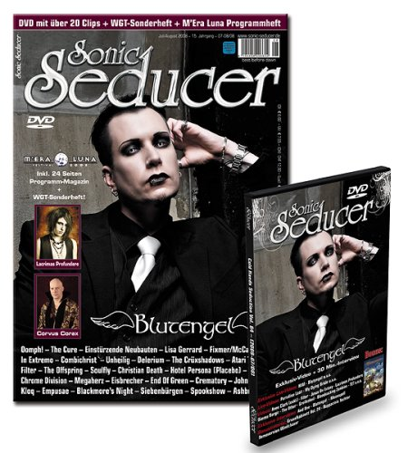 Sonic Seducer 07/08-08 inkl. DVD in Box mit exkl. Blutengel & HIM Clip + Anne Clark, And One, Moonspell, Paradise Lost, Dimmu Borgir u.v.m. + WGT-Sonderbeilage + M`Era Luna Programmheft!