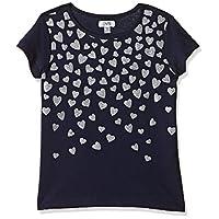 OVS Girl's 191TSH043C-230 T-Shirt, Blue (Black Iris 2435), 4-5