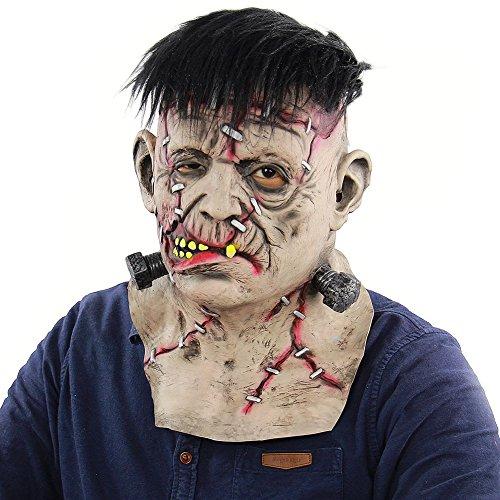 (Frankenstein Halloween Masken Dekoration Party Kostüm Requisiten für Kinder Frauen Männer)